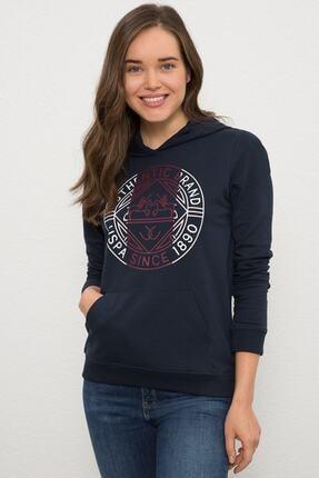 U.S. Polo Assn. Lacivert Kadın Sweatshirt