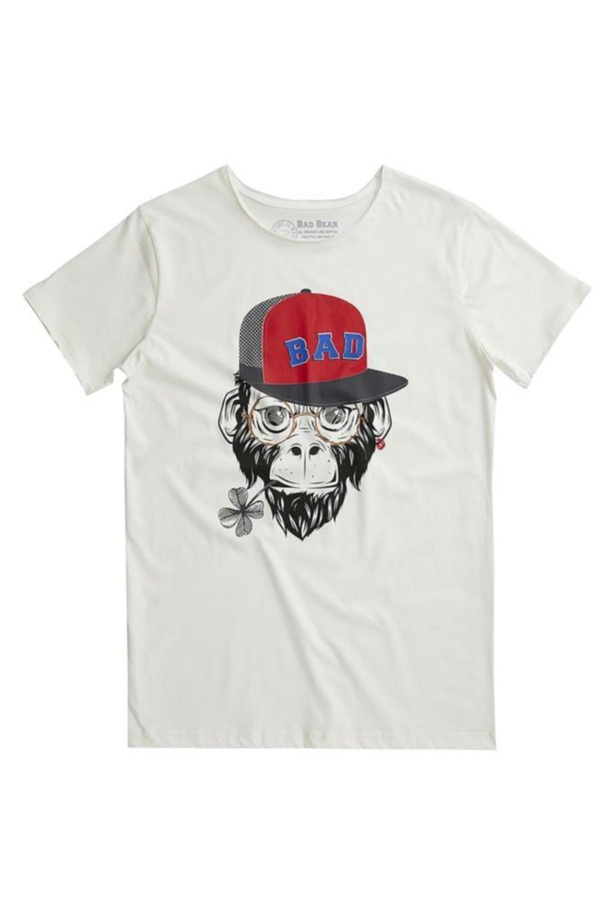 Bad Bear Bad Monkey Tee Erkek T-shırt 20.01.07.018 1