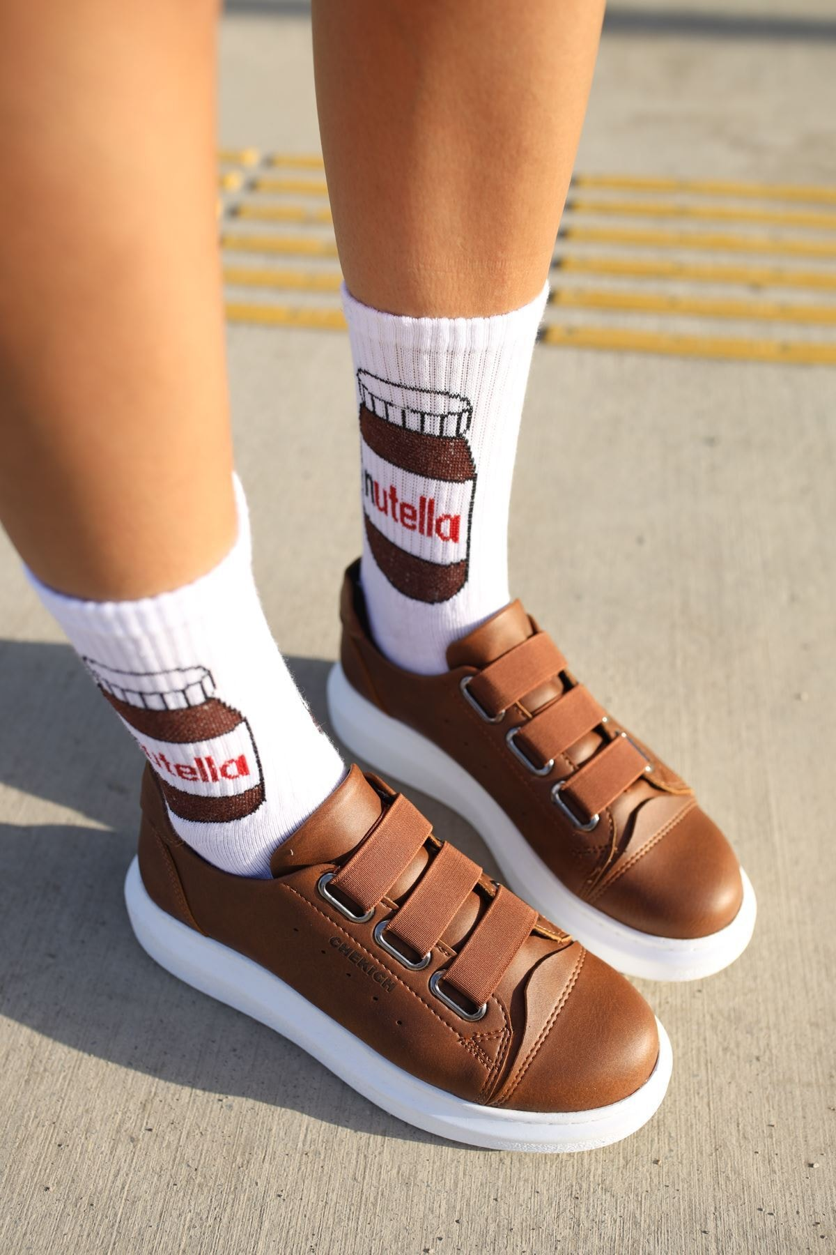 Chekich Ch253 Bt Kadın Ayakkabı Taba 2