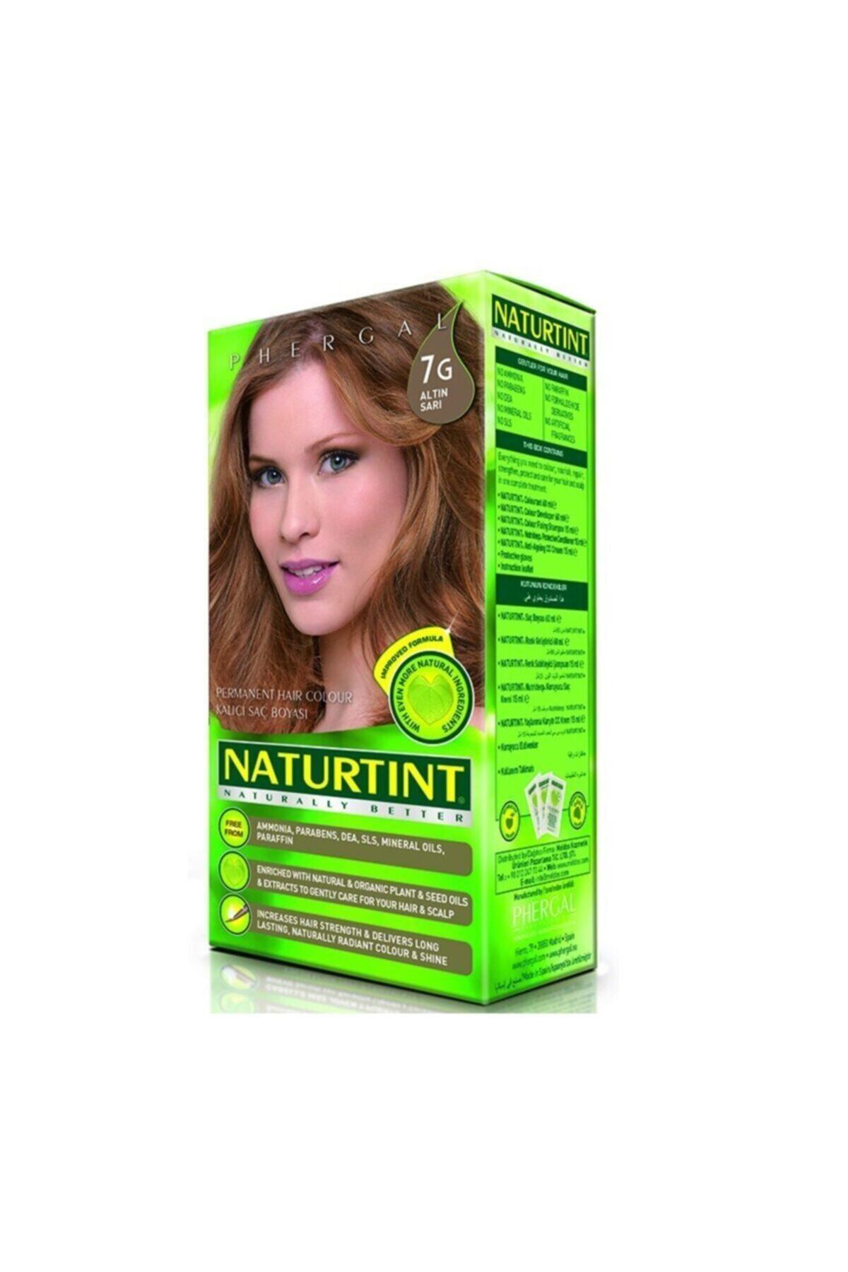 99 Naturtint Kalıcı Saç Boyası 7g Altın Sarı 165 ml 1
