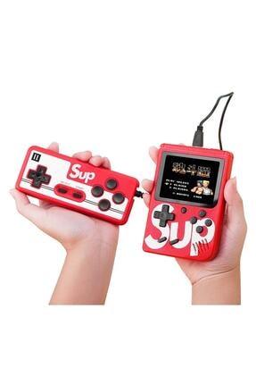 SUP Çift Kol 400 Nostalji Oyunlu Mini Atari Gameboy & Gamebox Oyun Konsolu