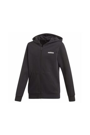 adidas YB E LIN FZ HD Siyah Erkek Çocuk Sweatshirt 100616536