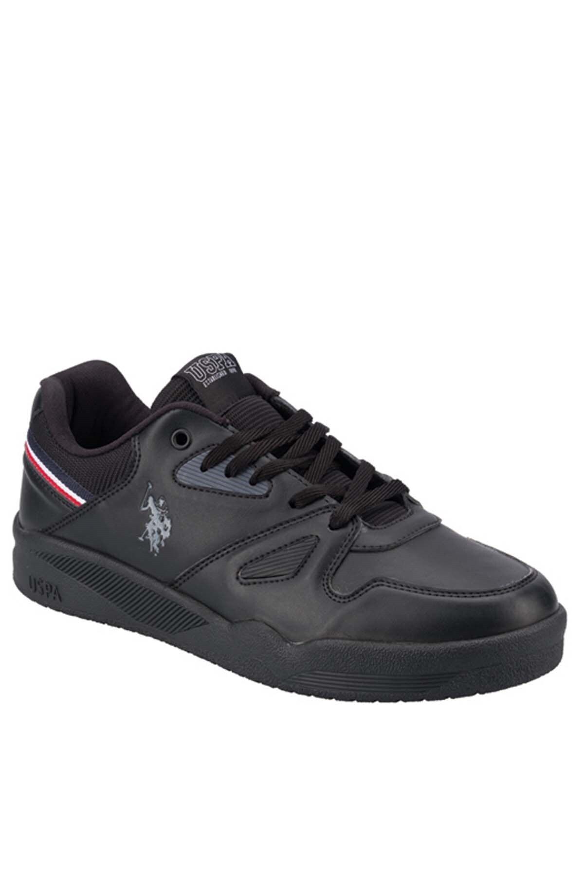U.S POLO PARKER Siyah Erkek Sneaker Ayakkabı 100549165 2
