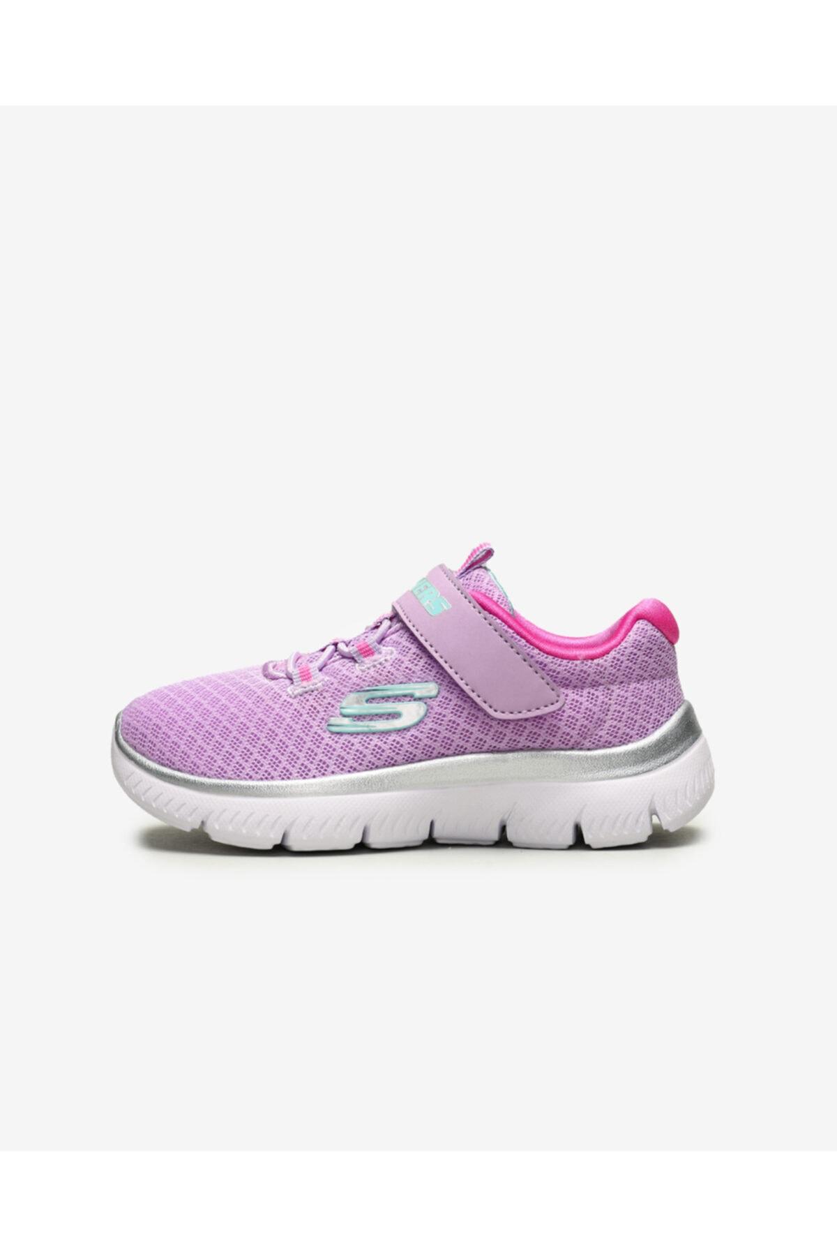 SKECHERS SUMMITS - Küçük Kız Çocuk Mor Spor Ayakkabı 1