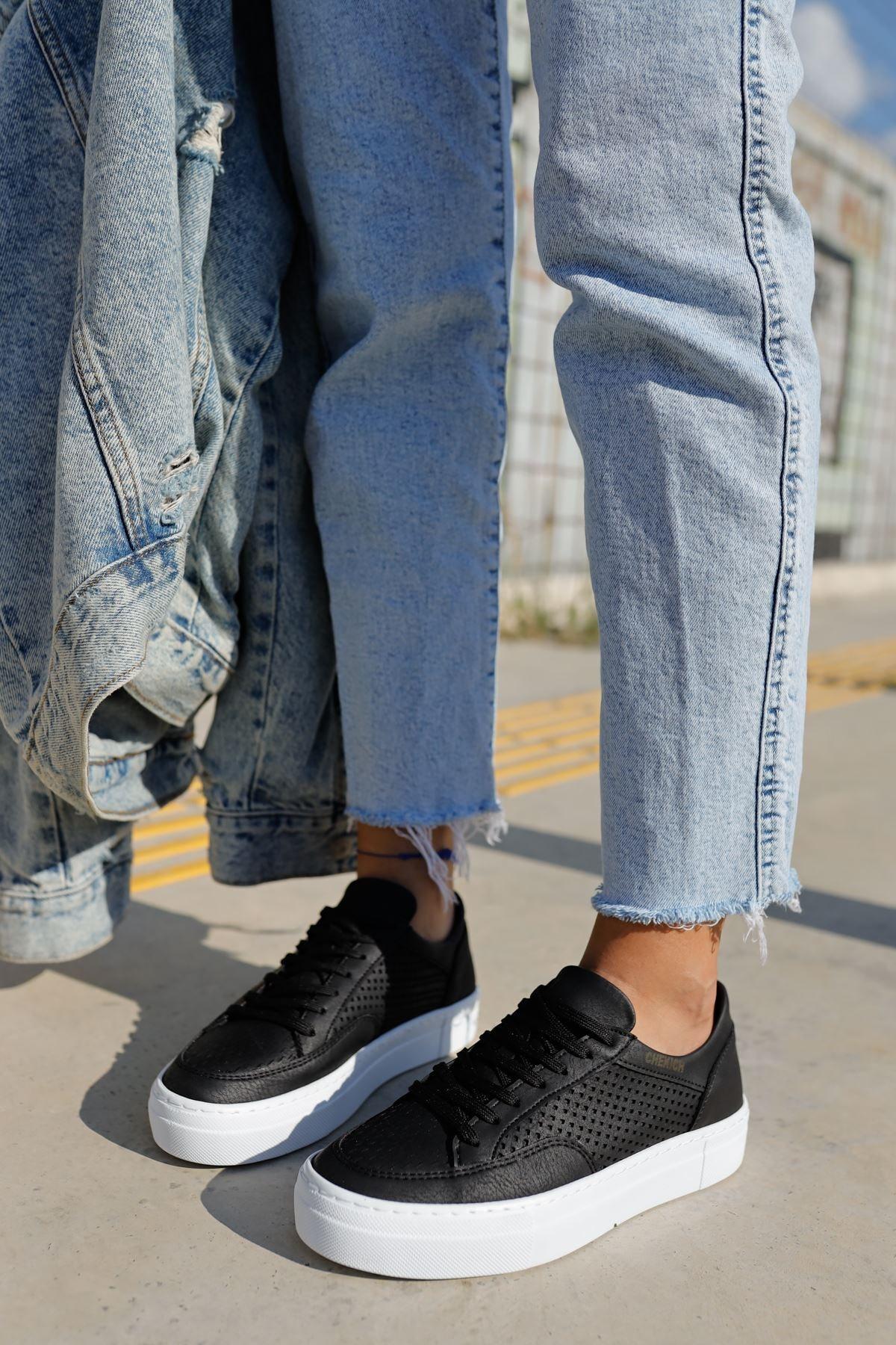 Chekich Ch015 Bt Kadın Ayakkabı Sıyah 1