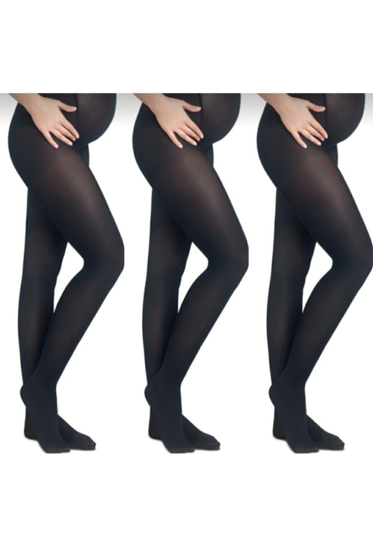 Penti Hamile Külotlu Çorap 40 Denye 3'lü Paket 1