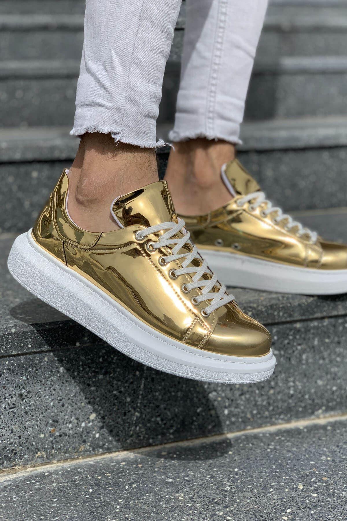 Chekich Ch Ch260 Bt Erkek Ayakkabı Altın 1