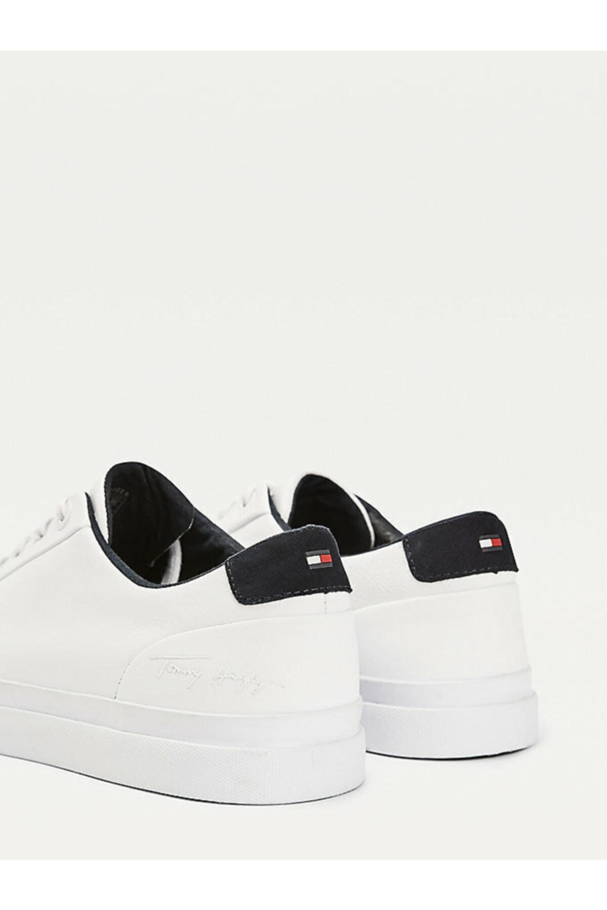 Tommy Hilfiger Corporate Deri Sneaker 2