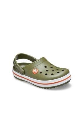 Crocs 204537 K Crocband Clog Kids Haki Çocuk Terlik