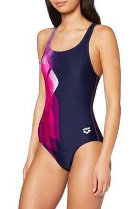ARENA W Mirrors Swim Pro Back One Piece Kadın Yüzücü Mayo