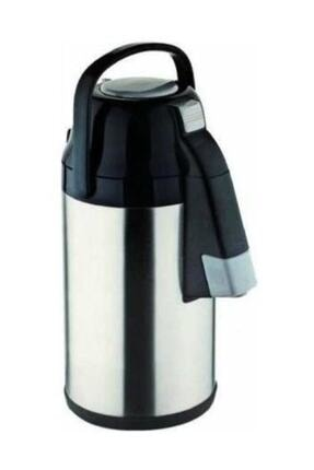 Cooker Çelik Pompalı Çay Termosu 3,5 Lt.