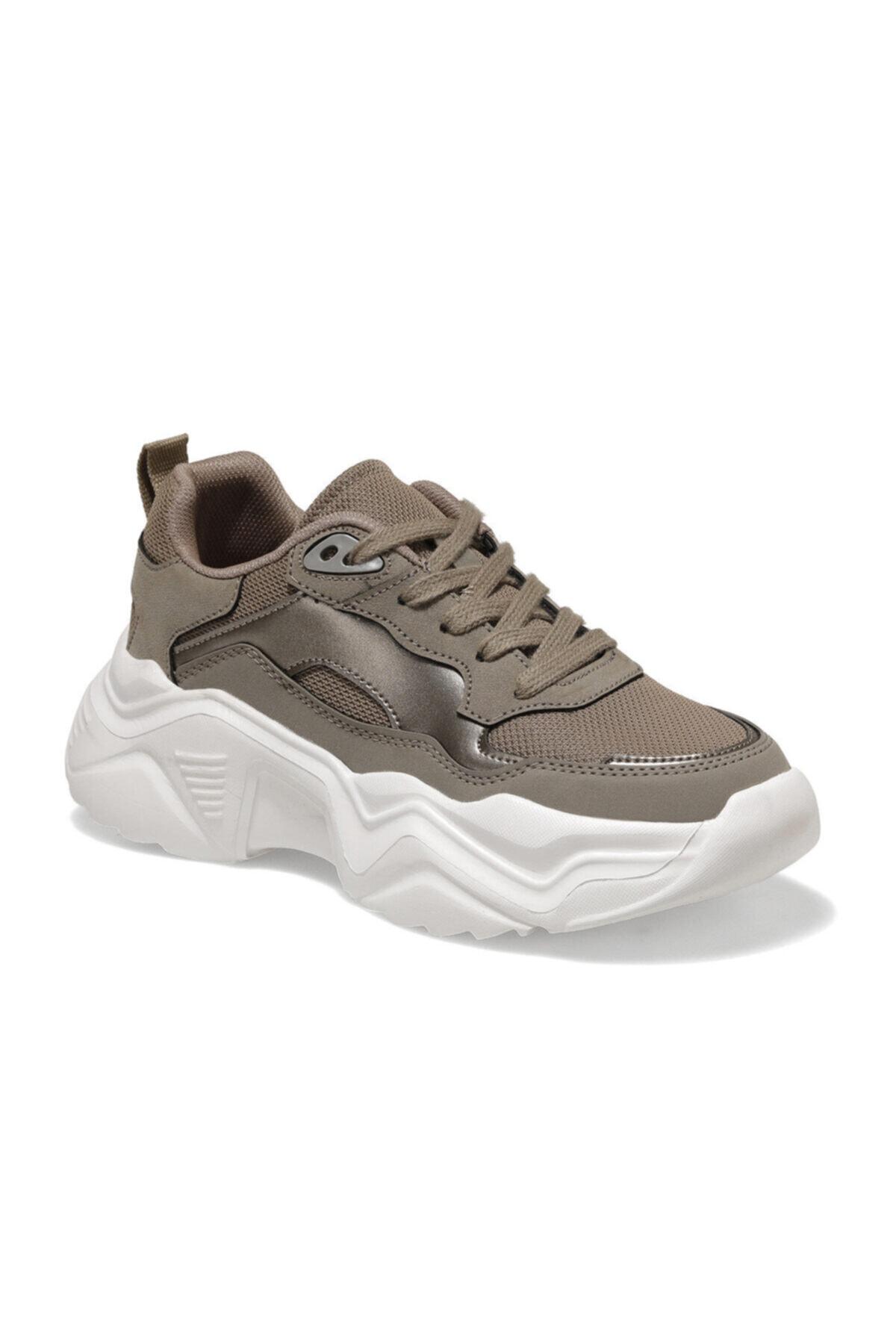 Kinetix SHAG Kum Rengi Kadın Sneaker 100539700 1