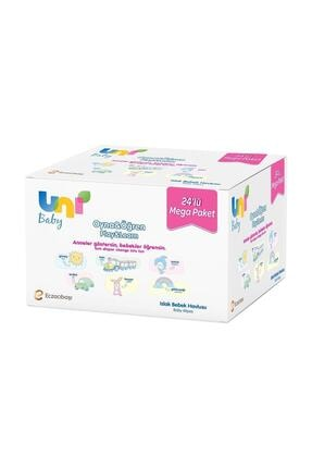 Uni Baby Oyna Öğren Islak Mendil 24'lü - Fırsat Paketi 1248 Yaprak
