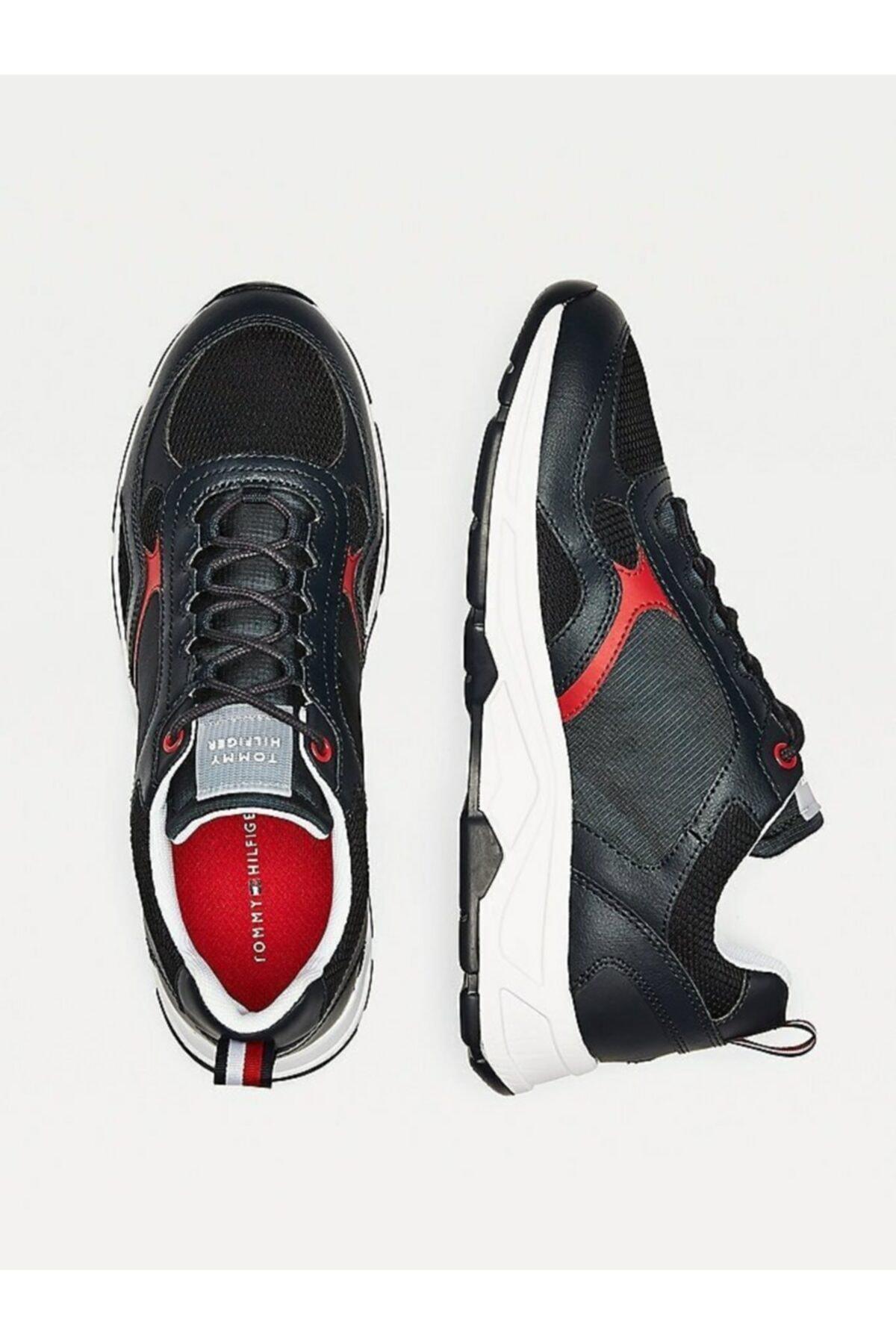 Tommy Hilfiger Erkek Th Fashion Mix Sneaker 2