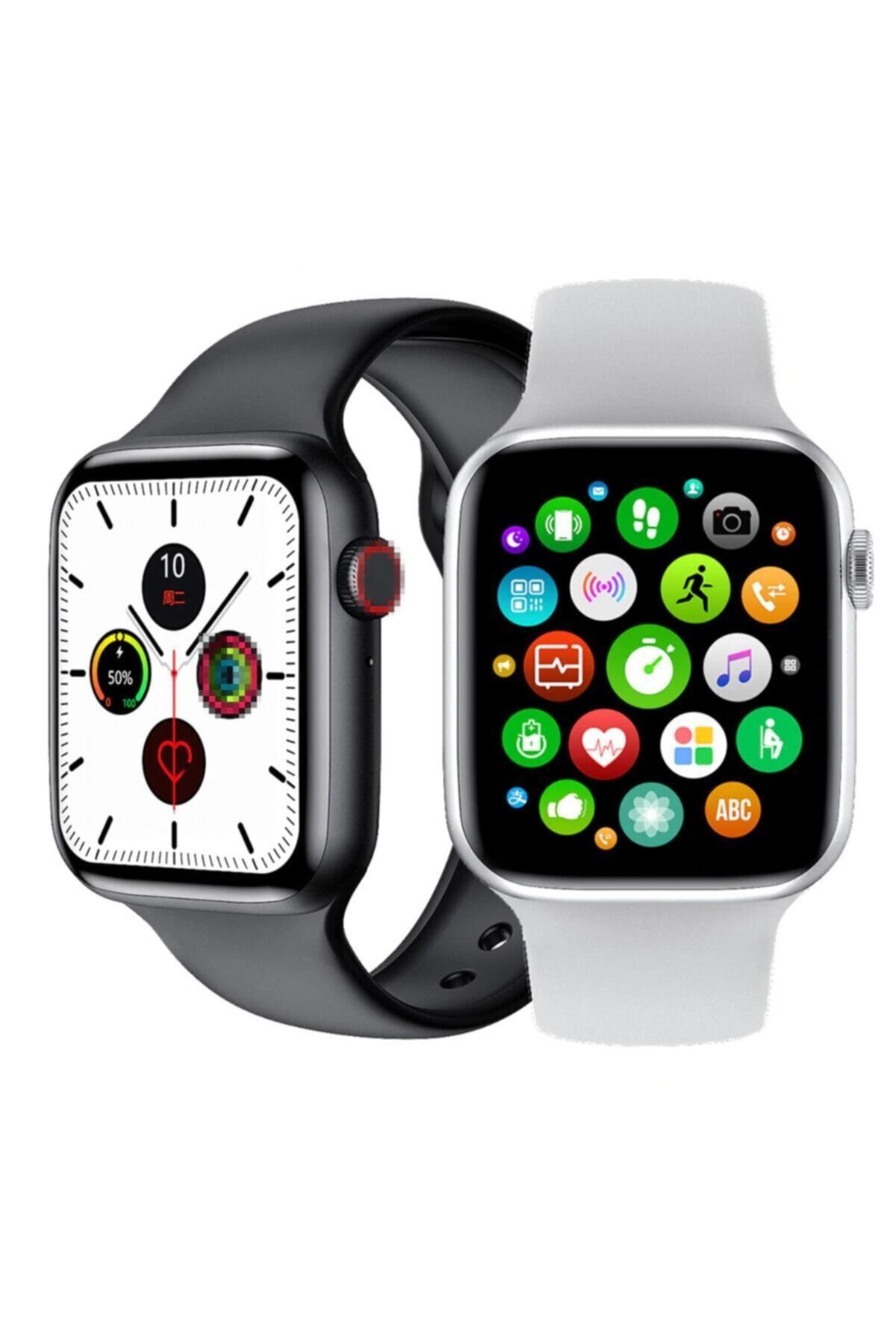 LuffyCase Watch Os 6 Tam Ekran Türkçe Menü Tam Dokunmatik Ios Android Uyumlu Akıllı Saat 1