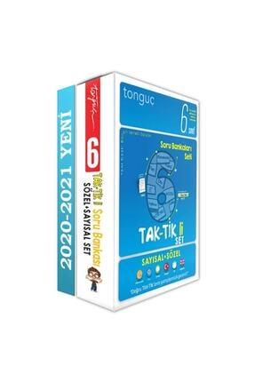 Tonguç Akademi Tonguç Yayınları 6. Sınıf Taktikli Tüm Dersler Soru Bankası Seti