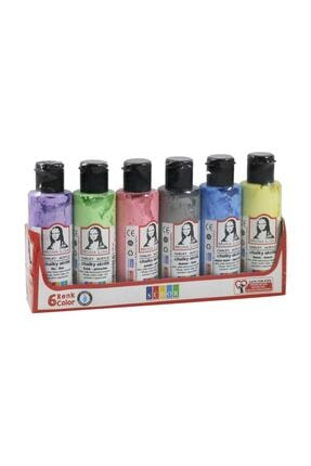 Südor Mona Lisa Chalky Akrilik Boya 6 Pastel Renk X 70 ml Şişe