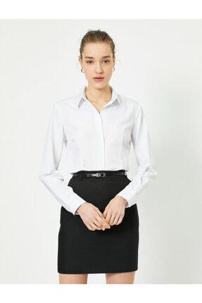 Koton Kadın Gömlek 1kak62449yw001