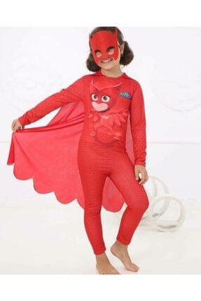 tafitech Baykus Kız Kostumu Pijamaskeliler Pjmask Maskeli