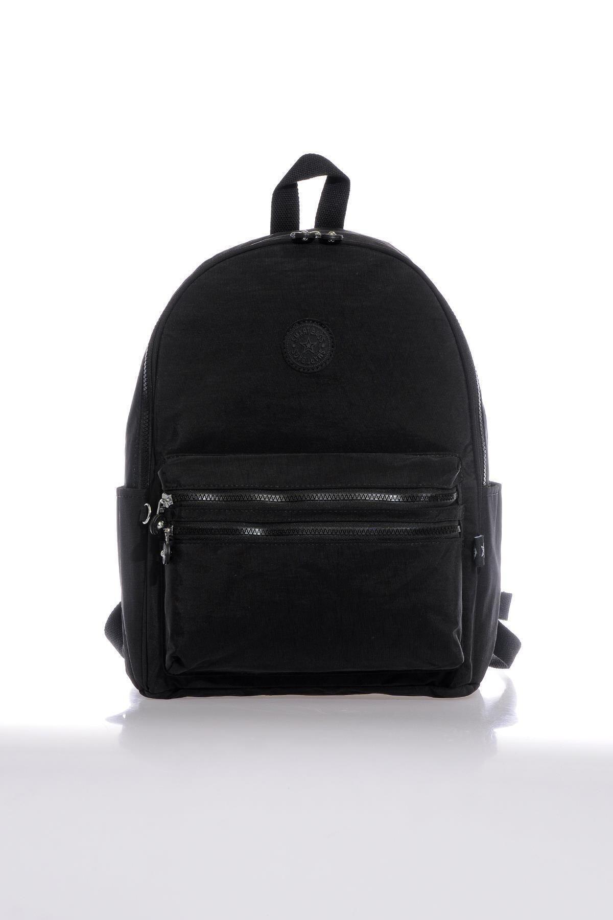 SMART BAGS Smb3078-0001 Siyah Kadın Sırt Çantası 1