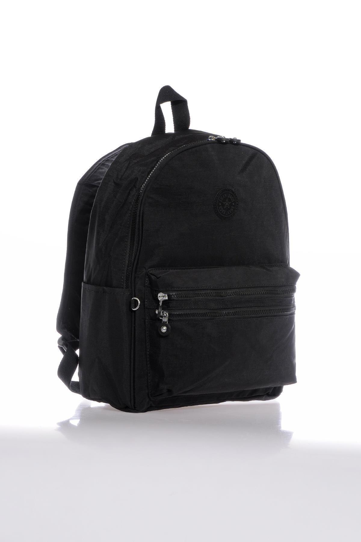 SMART BAGS Smb3078-0001 Siyah Kadın Sırt Çantası 2