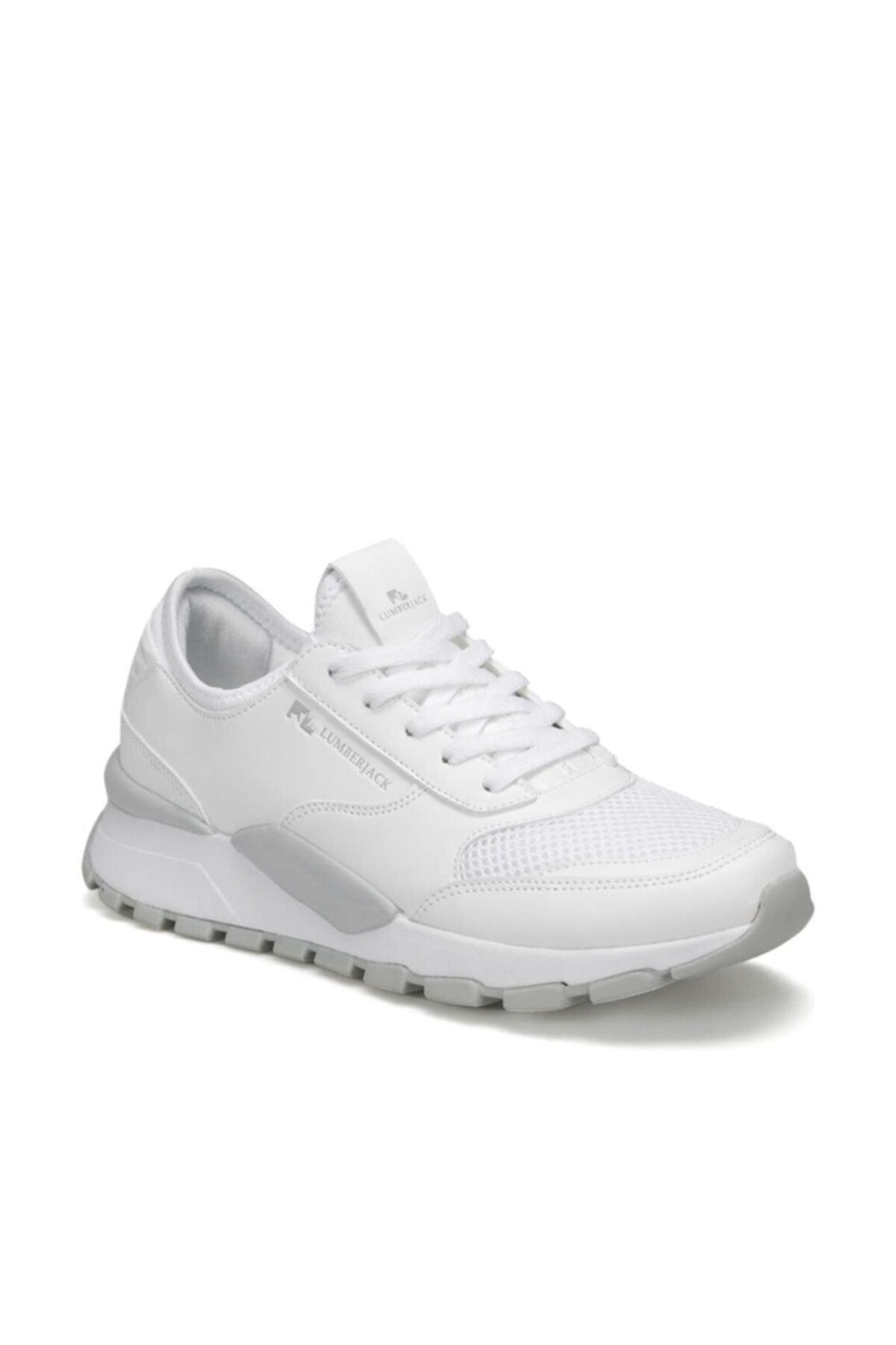 lumberjack MORVAN WMN 9PR Beyaz Kadın Sneaker Ayakkabı 100406813 1