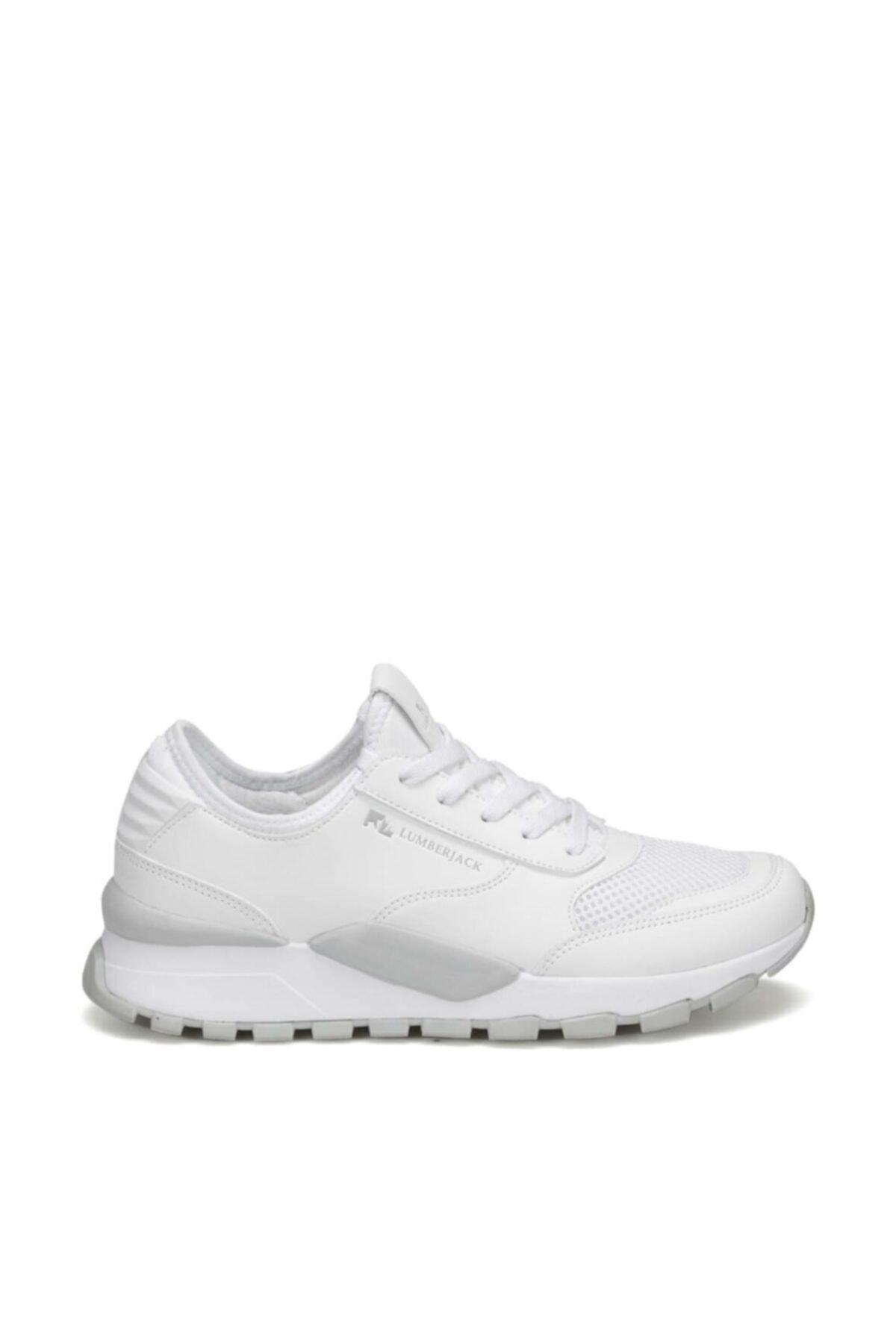 lumberjack MORVAN WMN 9PR Beyaz Kadın Sneaker Ayakkabı 100406813 2