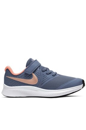 Nike Star Runner 2 (Psv) Çocuk Yürüyüş Koşu Ayakkabı At1801-417-mavi