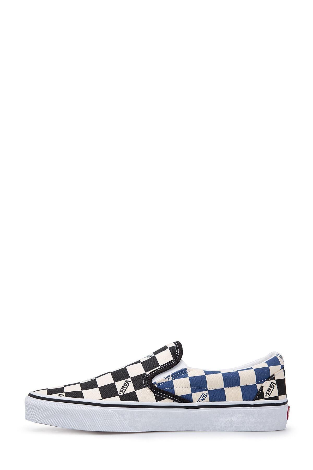 Vans Unisex Siyah Desenli Sneaker Ayakkabı 2