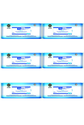 Bluewhite Blue White Antibakteriyel Perine Bölgesi Vücut Temizleme Havlusu-mendili 50 Li 6 Paket 300 Kullanım