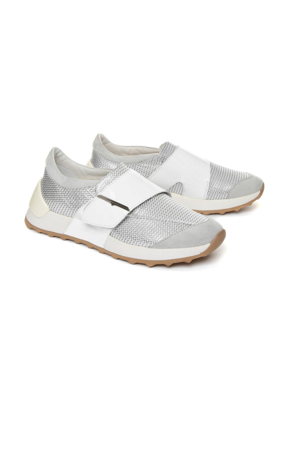 ALBERTO GUARDIANI Kadın Gümüş Renk Casual Ayakkabı 2