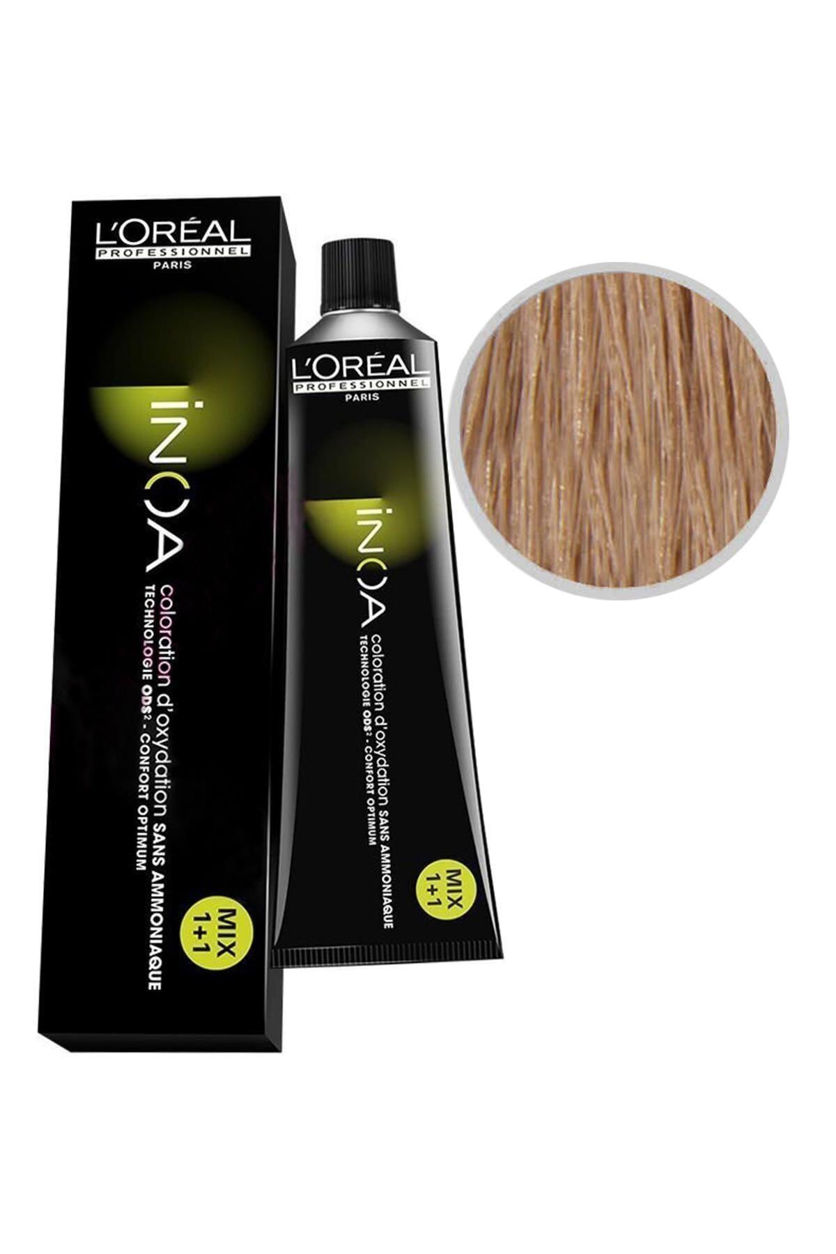 İNOA Loreal 8 Koyu Sarı Saç Boyası Kerastase 1