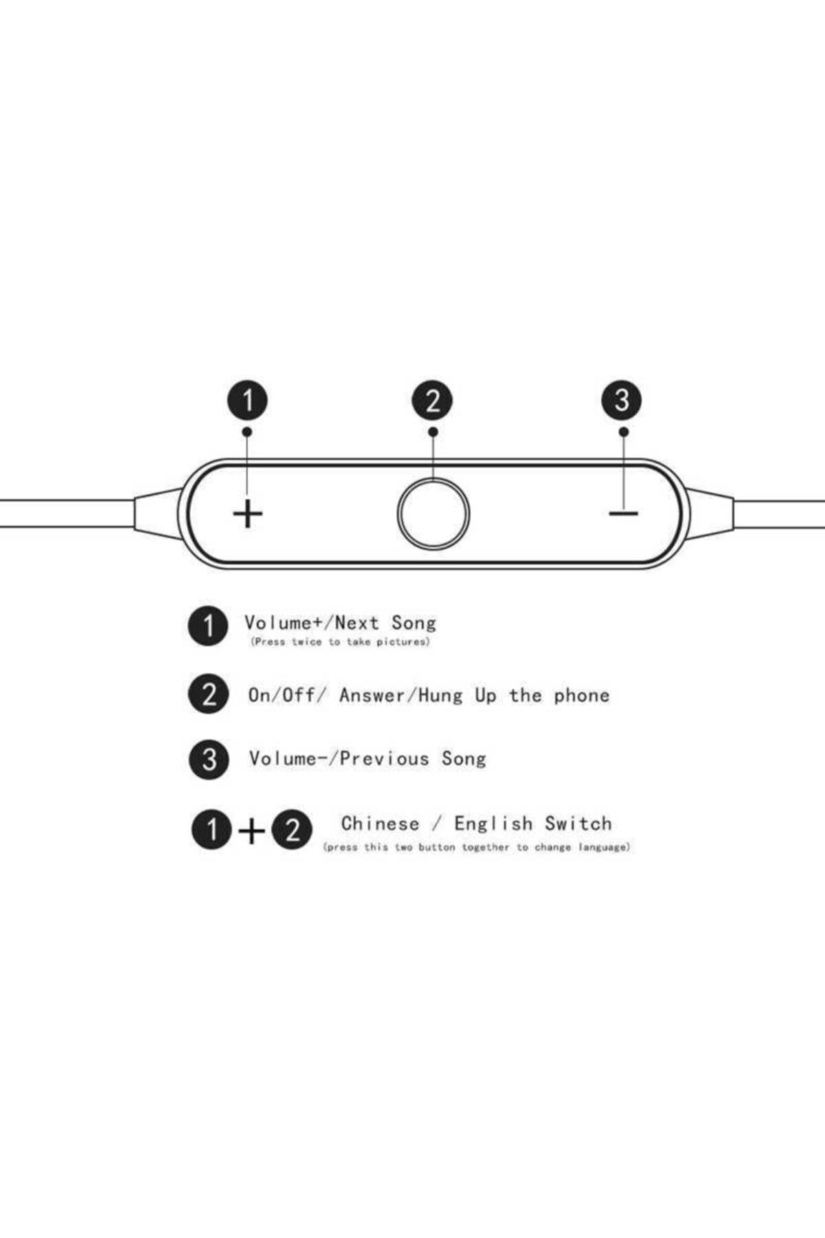 zore Bt-008 Boyun Askılı Bluetooth Kulaklık 2