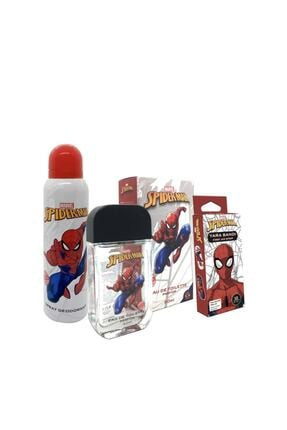 Marvel Spider-Man 50 ml Parfüm Edt + 150 ml Deodorant + 10lu Yarabandı