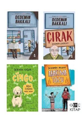 Taze Kitap Şermin Yaşar 4 Kitap Set Dedemin Bakkalı-cingo-abartma Tozu