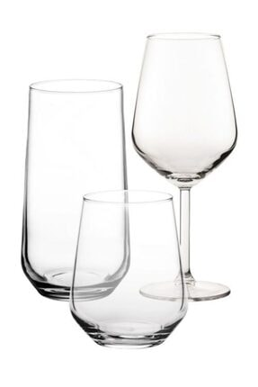 Paşabahçe Allegra Su Bardak Takımı - Su Bardağı Seti 18 Parça Narumi-set001