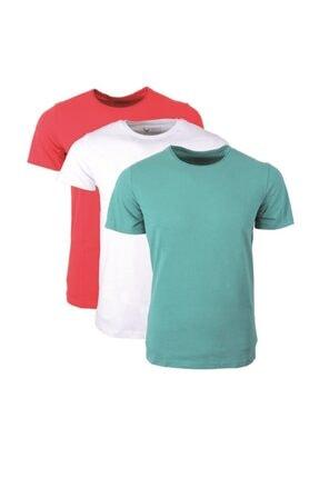 Rich Erkek Çok Renkli Basic Tshirt Paketi