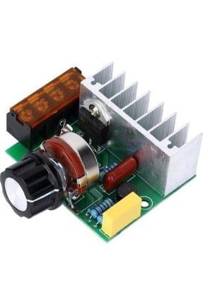 Arduino Dimmer 4000w Ac Voltaj Regulator Dimmer 220v Motor Hız Kontrol