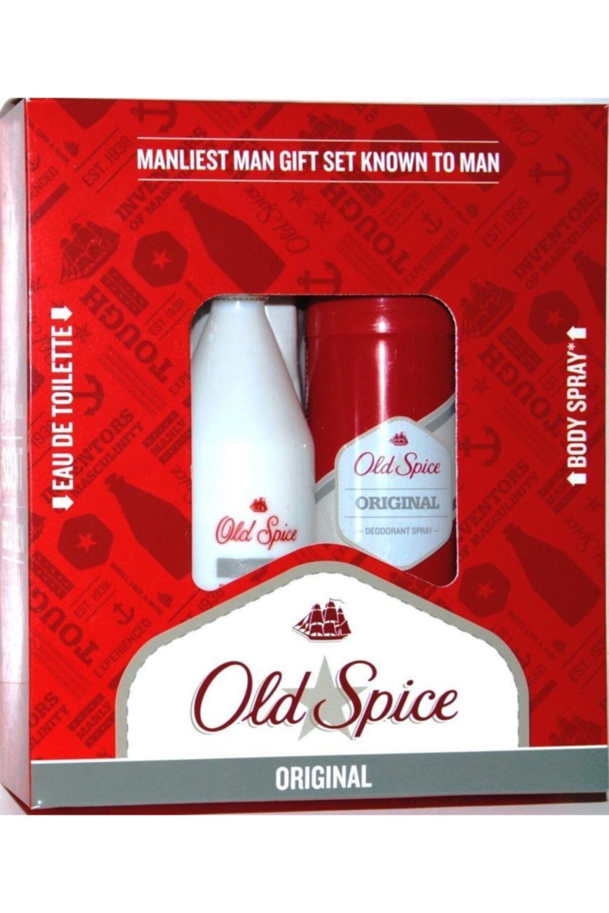 Old Spice Original Edt 100 ml Erkek Parfüm + Deodorant Sprey 150 ml Seti 8006540252048 1