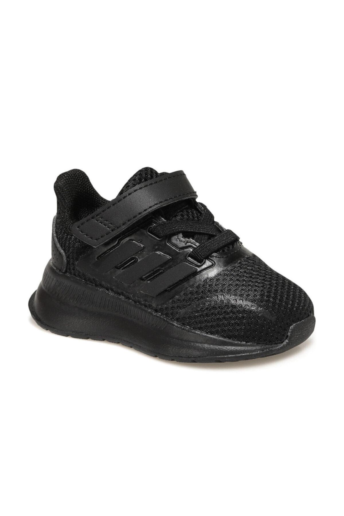 adidas RUNFALCON I Siyah Erkek Çocuk Koşu Ayakkabısı 101069189 1