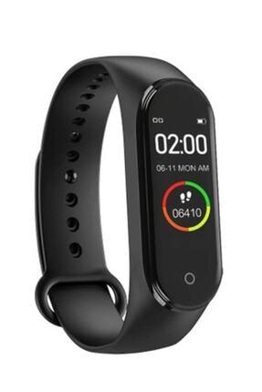 i-Stone Smart Ithink M4 Akıllı Saat Özellikli Akıllı Bileklik Band M4 Renkli Ekran - Siyah