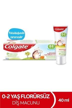 Colgate 0-2 Yaş Meyve Tadında Florürsüz Çocuk Diş Macunu 40 ml