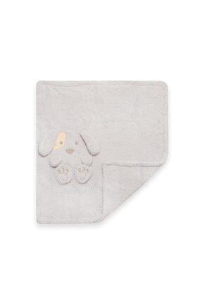 Bebbemini Köpek Figürlü Bebek Battaniye