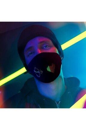 ZenBuy Uygulama Kontrollü Ledli Festival Maske