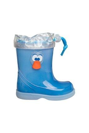 IGOR W10163-083 Mavi Erkek Çocuk Yağmur Çizmesi