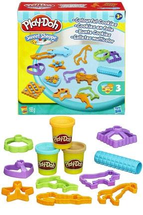 Play Doh Play-doh Sweet Shoppe Colorful Cookies Oyun Hamuru Seti Pc167