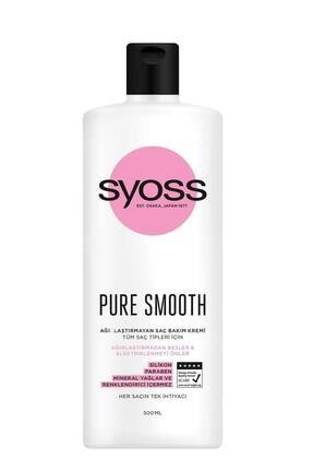 Syoss Pure Smooth Micellar Saç Kremi 500ml X 6 Adet