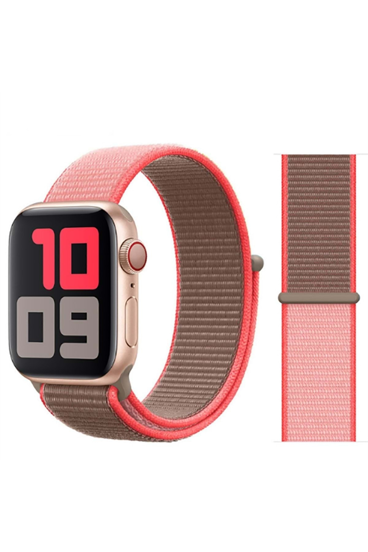 zore Apple Watch 42mm Krd-03 Hasır Kordon 1