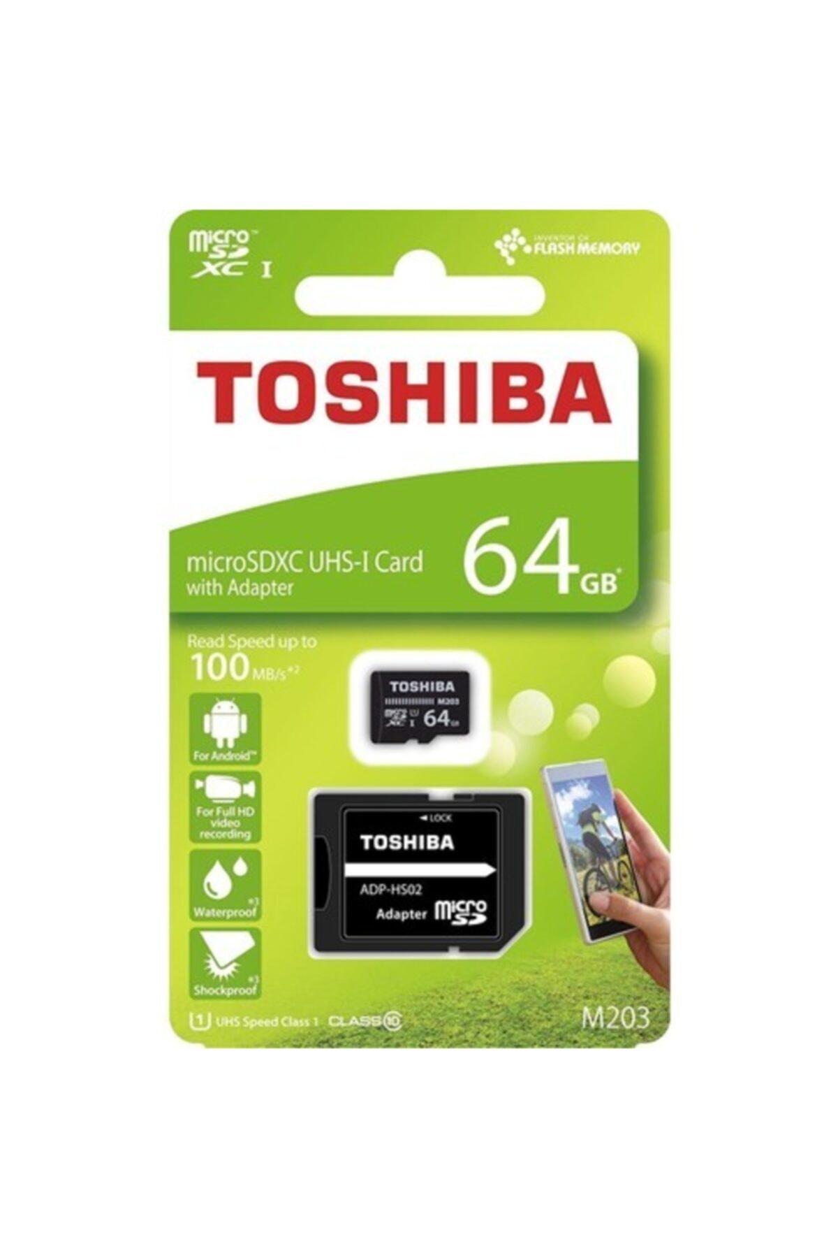 Toshiba 64gb 100mb/sn Microsdxc™ Uhs-1 Class10 Excerıa Thn-m203k0640ea 2