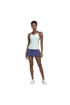adidas Fk0762 Gameset Heat Kadın Mavi Tenis Tişört